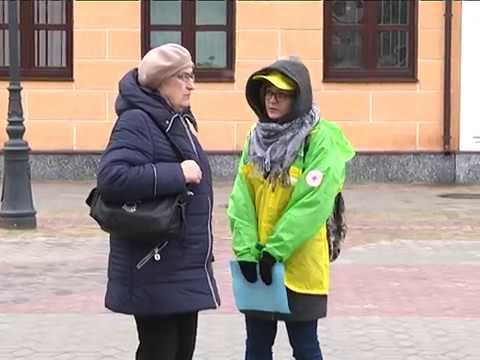 2017-03-28 г. Брест. Акция «Белая ромашка».  Новости на Буг-ТВ.