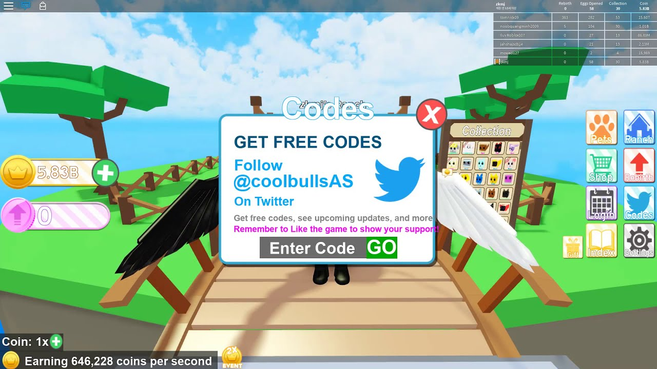 Roblox Vet Simulator Gamelog September 7 2018 Blogadr Free Codes For Pet Ranch Simulator 2019 June