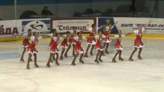 Синхронное катание ЧР 2011, Лаура Новоуральск.MPG