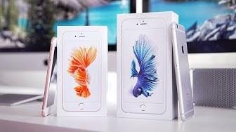 iPhone 6S vs. 6S Plus: Unboxing & erster Eindruck! - felixba