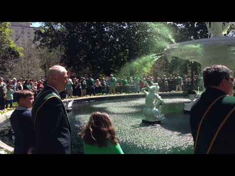 Park Fountains Gush Green in Savannah