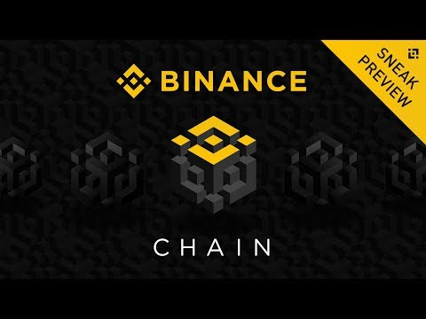 *SNEAK PREVIEW* Binance Chain / DEX