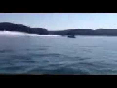 3400hp Skater crash at Lake Cumberland 2013