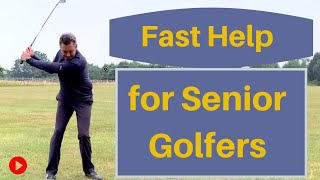 One Simple tip that helps Senior golfers improve fastest.