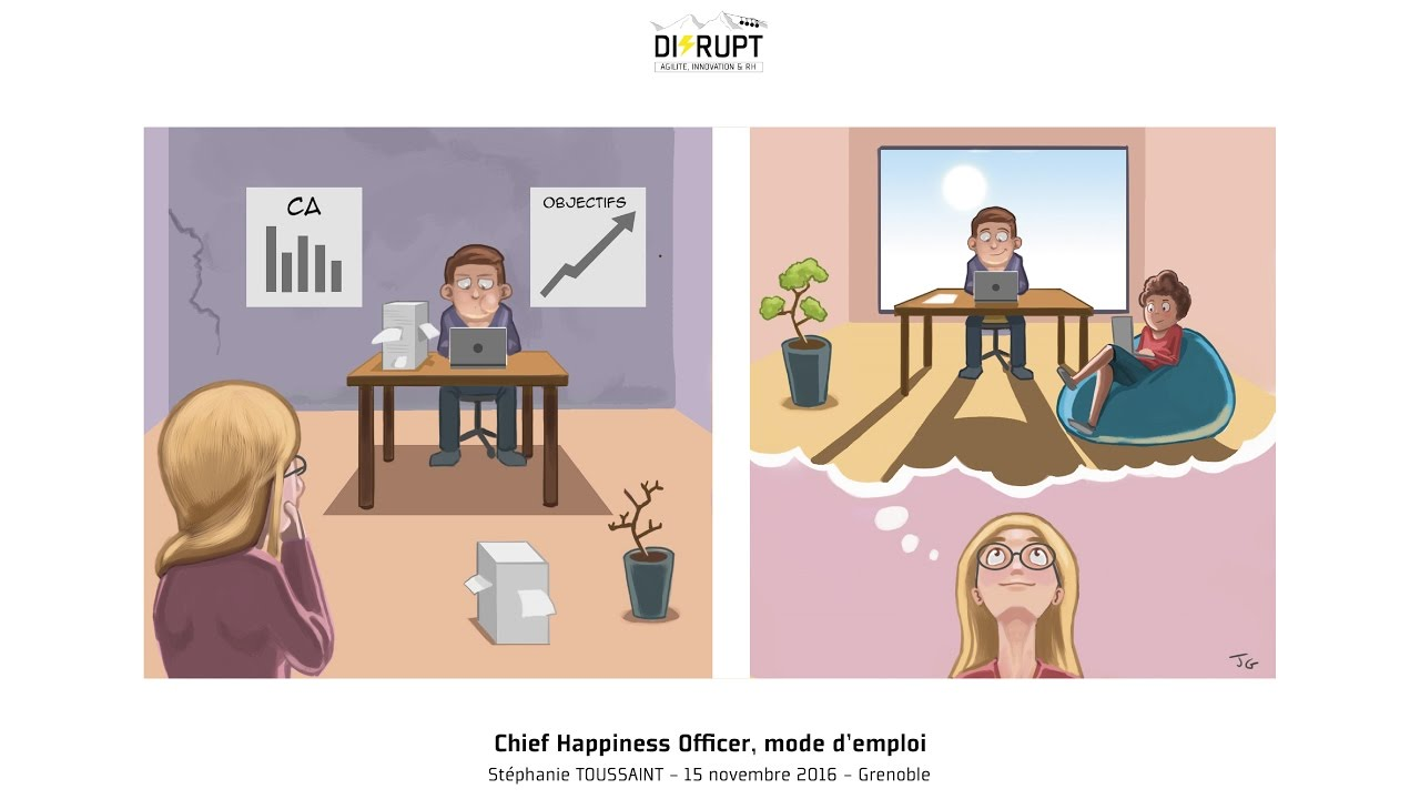 chief happiness officer  mode d u0026 39 emploi - st u00e9phanie toussaint