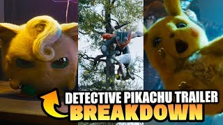 New Pokemon Movie Trailer! Detective Pikachu 2019 Movie Trailer Breakdown & MORE!