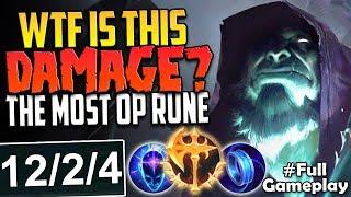 WTF IS THIS DMG? MOST OP RUNE 13k+ TRUE DMG | Conqueror Yorick vs Sion TOP RANKED SEASON 8 Gameplay