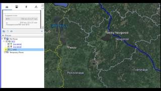 Creating and saving path as KML file in Google Earth Free HD Video
