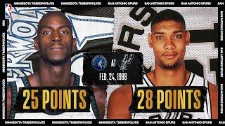 Kevin Garnett & Tim Duncan Duel | #NBATogetherLive Classic Game
