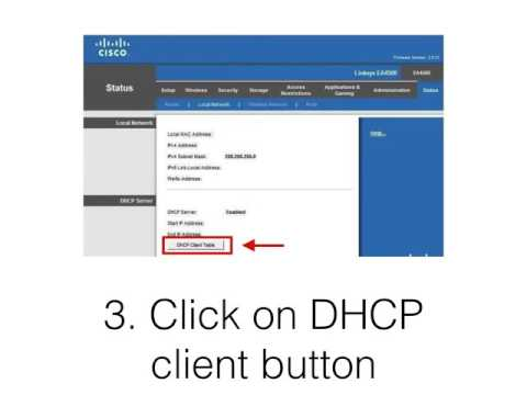 8  Locate the IP address of the PBX using the dhcp client table on a firewall