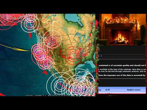 12/25/2017 -- Global Earthquake Forecast -- New warned areas across Pacific -- Deep pressure gone?