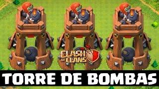 COMPREI A TORRE DE BOMBAS - NOVA OFERTA DO CLASH OF CLANS