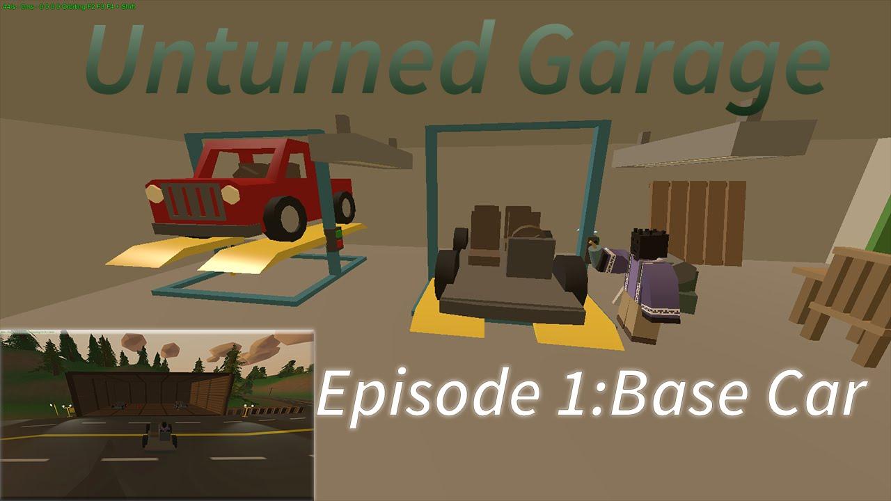 Unturned  Car Garage