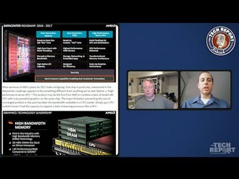 Talking AMD, Zen, and Fiji with David Kanter