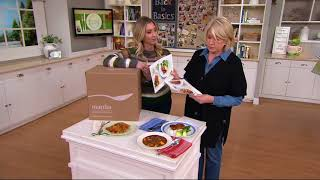 Martha & Marley Spoon 2 or 4 Person Meal Box 6 or 12 Meals on QVC