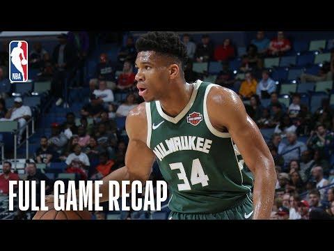 Bucks - Milwaukee defeats New Orleans 130-113