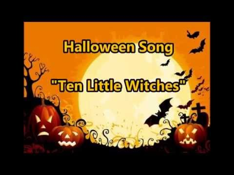 Sg ♪Ten Little Witches with Lyrics  APRICOT Publishing