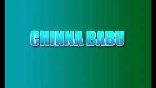 Chinna Babu Full Movie | Akkineni Nagarjuna | Suresh Productions