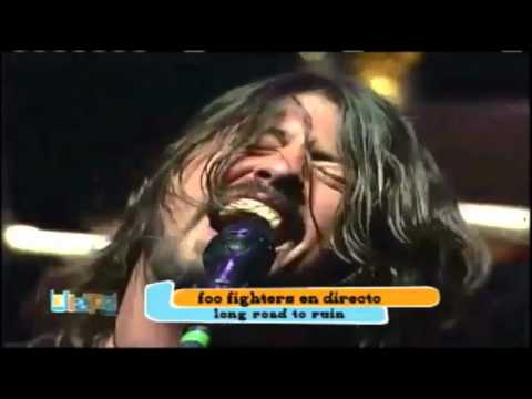 Foo Fighters - Long Road To Ruin (Live in Lollapalooza Chile 2012)