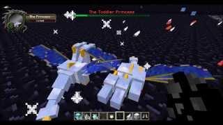 Minecraft Mob Battle:5 Princess,Young adult Prince and Kiryu Vs King Kong!