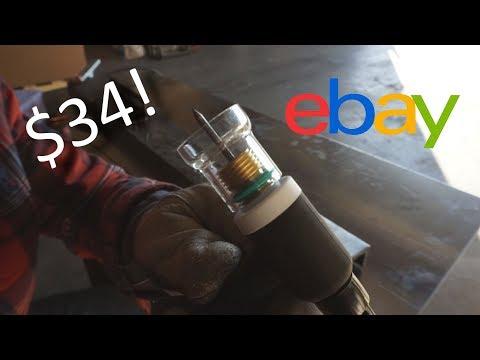 EBAY GAS LENS KIT! Easy TIG Welder Upgrade Review