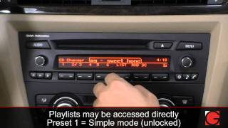 GROM-MST3 BMW E90 E91 2005-2012 iPod iPhone Android Adapter Interface Usage (non iDrive)