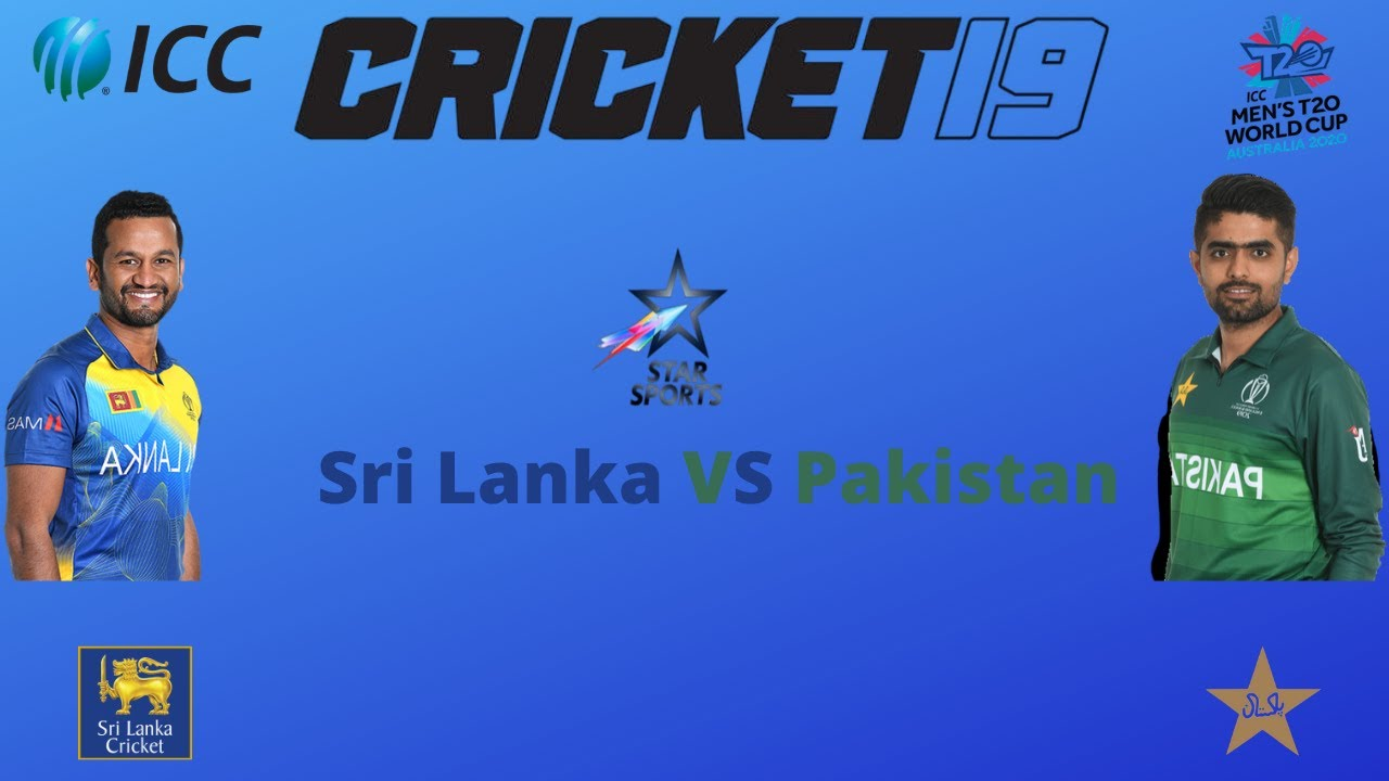 Cricket 19 Gameplay    Sri Lanka VS Pakistan  ICC Cricket World Cup 2020