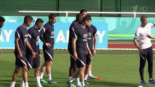 Матч сборных по футболу Франции и Германии в прямом эфире покажет Первый канал