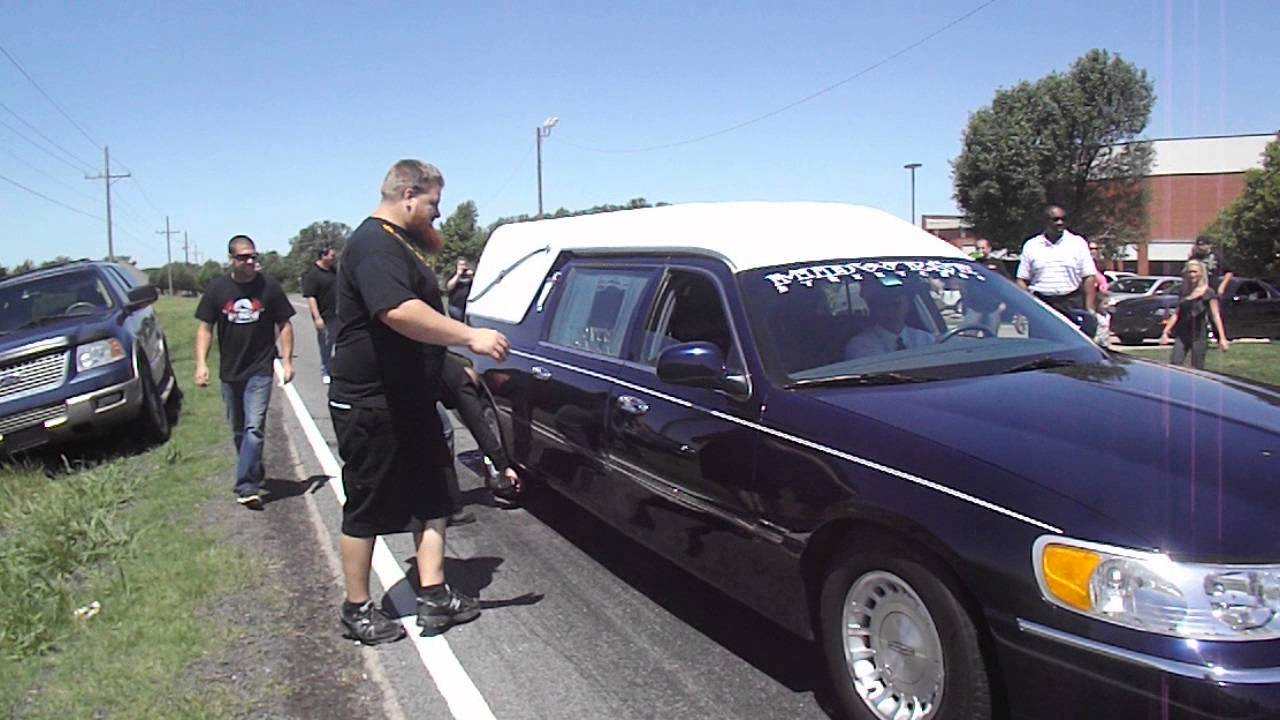 Hearse burnout for tyler flip street outlaws youtube