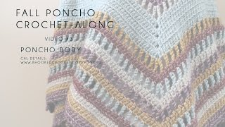 Fall Poncho CAL Poncho Body Right Hand Video 3