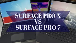 Surface Pro X vs Pro 7, Unboxing & Setup, Windows on ARM, SQ1 Chip, LTE, New Pen & Keyboard