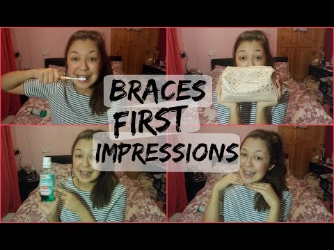 Braces First Impressions! | xVintageRosesx