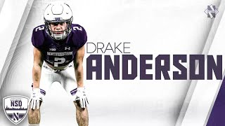 Drake anderson, a running back from chandler, arizona, signed his national letter of intent to join the northwestern football program on dec. 20, 2017.