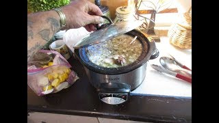How to make  Yummy Rabbit Stew in a Slow Cooker