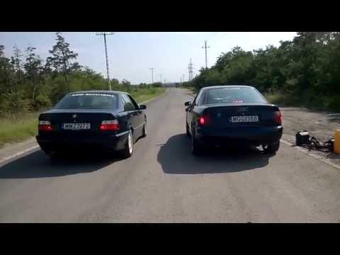 BMW 318i (E36) vs Audi A4 1.9tdi (B5)