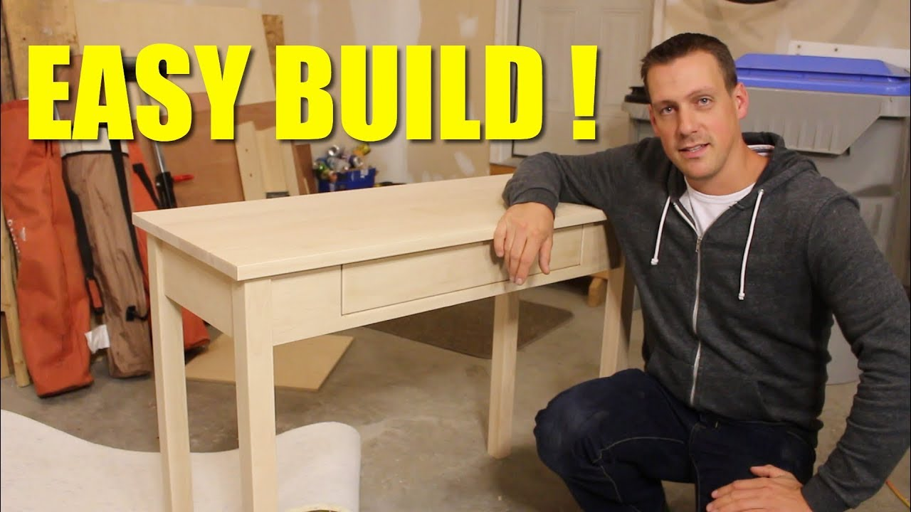easy build - small desk