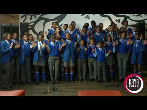"The Thaba Jabula Secondary School Choir performs ""Igazi lika Jesu"" live on Karibu with Mike Siluma"