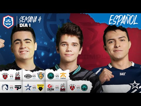 Clash Royale League: CRL West Fall 2019 | ¡Semana 4 Día 1! (Español)