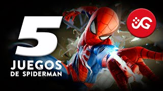 Los 5 Mejores Juegos de Spider-Man | GeryGamer