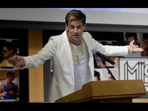 Milo Yiannopoulos Resigns From Breitbart After Pedophlia Interview Video Surfaced
