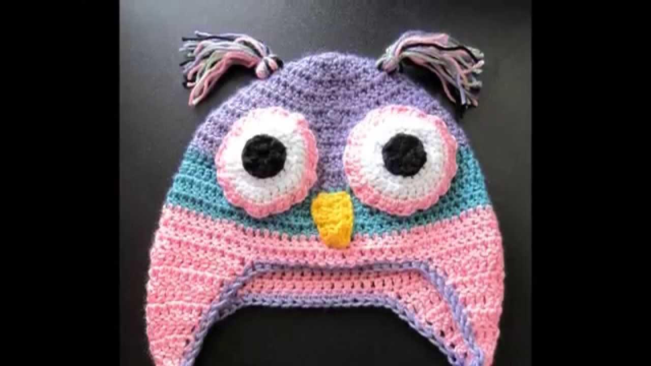 Crochet Animal Hats : Crochet Animal Hats - YouTube