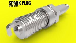 CATIA online training | how to design spark plug | car engine | step 7 thumbnail