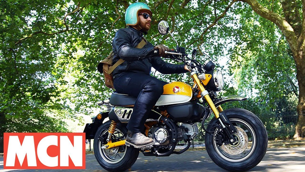 small resolution of honda monkey bike first ride motorcyclenews com