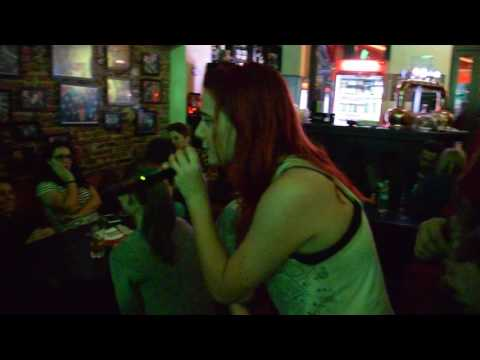Freak on a leech Karaoke at Tunes Pub Bucharest