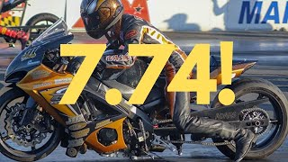 11 of THE FASTEST MOST POWERFUL STREET LEGAL MOTORCYCLES RACE AT HUGE DRAG BIKE EVENT AT NHRA TRACK