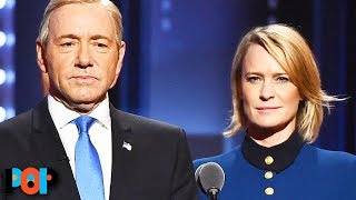 Robin Wright Denies Knowing Kevin Spacey Outside Working Together