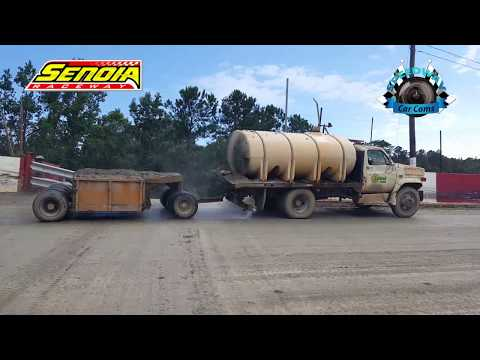 #4 Mckenna Nelms - Bomber - 8-12-17 Senoia Raceway - In Car Camera