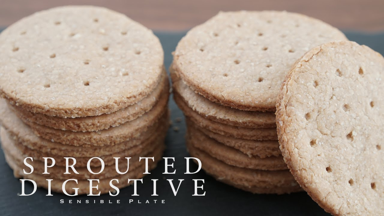 How to Make Sprouted Digestive Biscuits | Sensible Plate ...