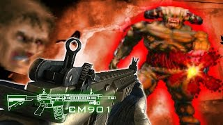Modern Warfare Doom !!   // Brutal Doom Realistic Weapons Add-on