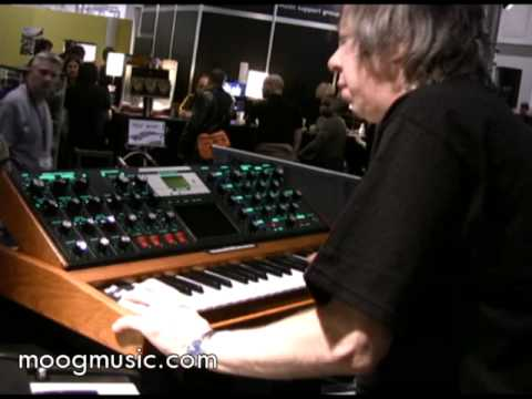 Moog - Frankfurt Musikmesse 2008 & 2009 - Adam Holzman